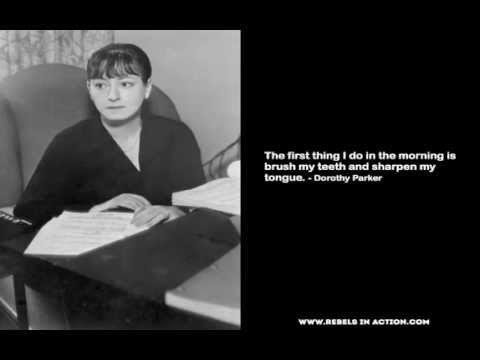 Dorothy Parker Poems   My poetic side