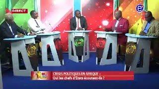 237 LE DÉBAT (Crises politiques en Afrique: qui les chefs d'états écoutent - ils ?)