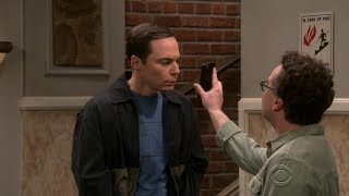 The Big Bang Theory - Sheldon doesn't believe that Leonard met Bill Gates