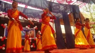 sambalpur govt women's college bihu dance