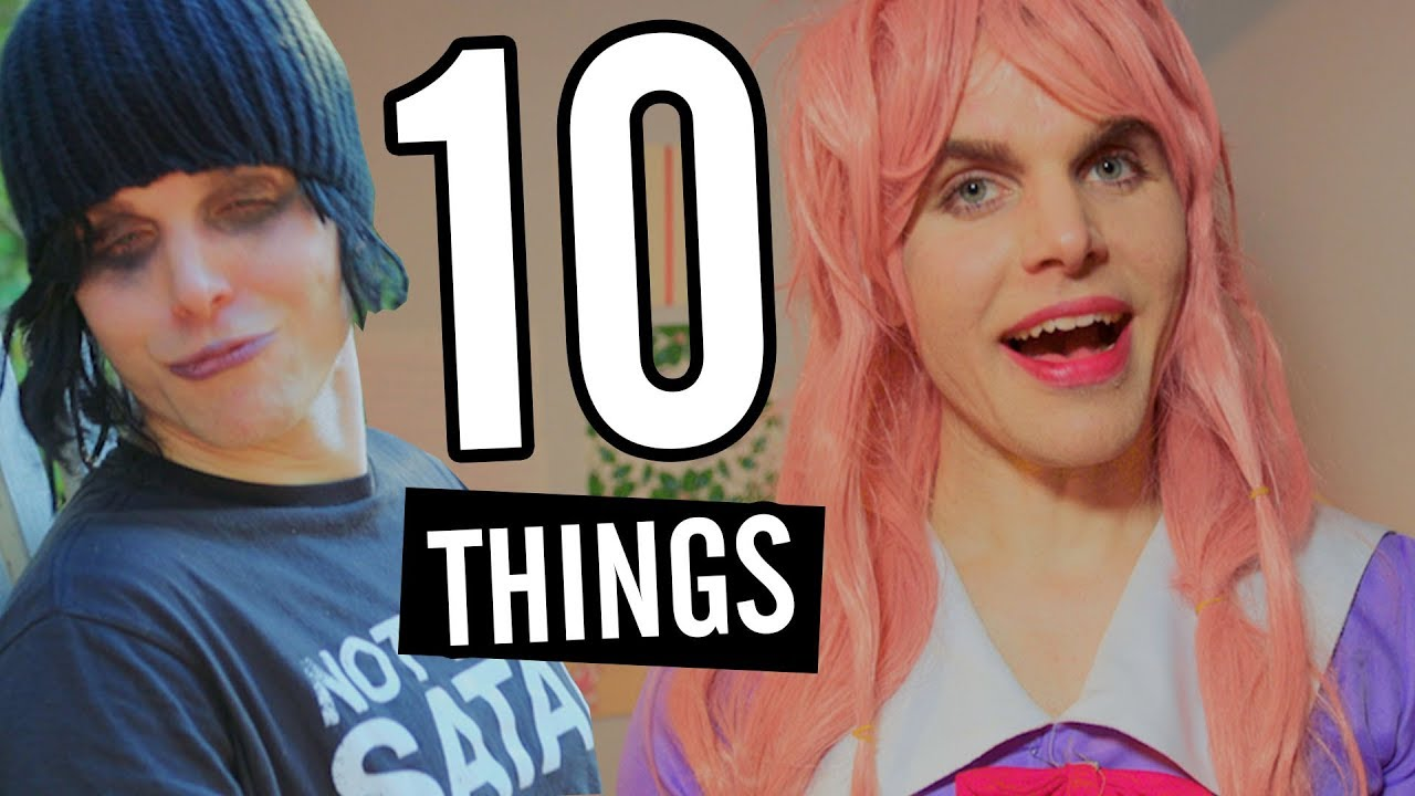 onision 10 things i hate about dating men