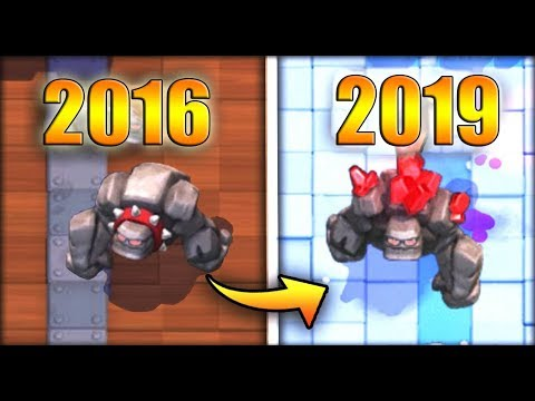 4 CARDS THAT LOOK DIFFERENT IN CLASH ROYALE (2016 - 2019)