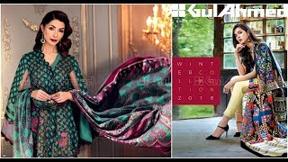 Gul Ahmed Winter Unstitched Collection 2018-19 Full Catalogue Magazine
