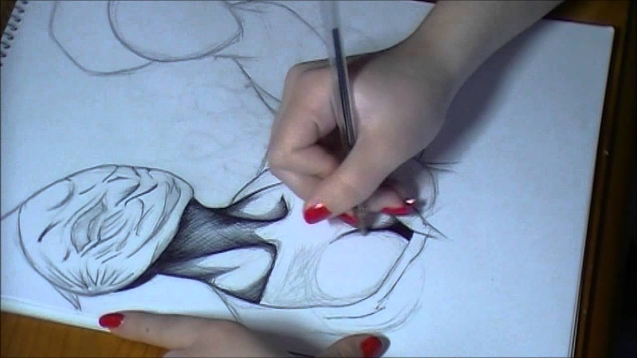 Speed drawing nursessilent hill  YouTube