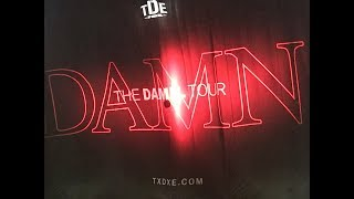 Kendrick Lamar Damn Tour | Crowd Takes Over Kendrick Lamar