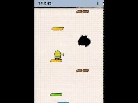 doodle jump sur iPhone