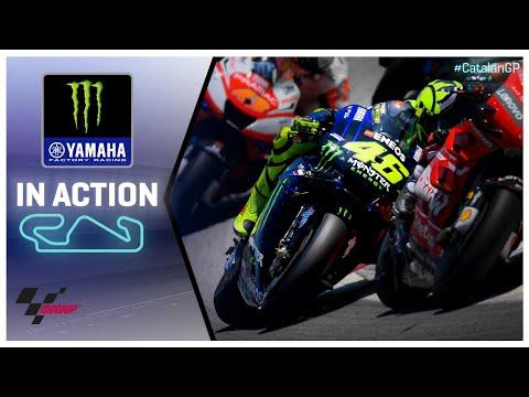 Yamaha in action: Gran Premi Monster Energy de Catalunya