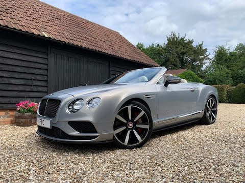 Bentley Continental Convertible GTC V8 S Mulliner MDS [Extreme Silver] - FTC Leasing