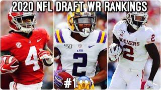 2020 NFL Mock Draft 3.0: WR Rankings