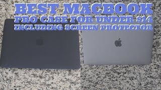 Best MacBook Pro Case for under $14 including screen protector
