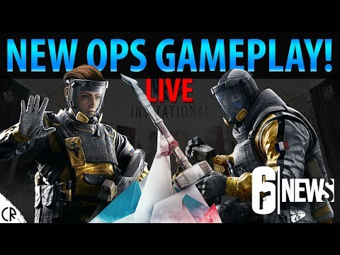 New Operator Gameplay Live! - Operation Chimera Live Stream - 6News - Tom Clancy's Rainbow Six