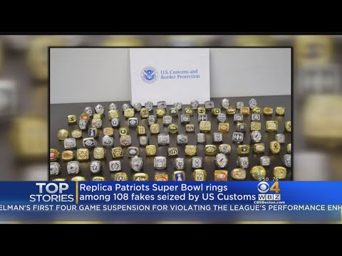 $1 Million In Fake Super Bowl Rings, Including Patriots Rings
