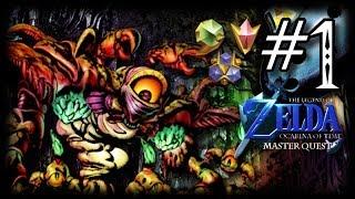 Inside the Deku Tree Walkthrough - Ocarina of Time 3D Master Quest