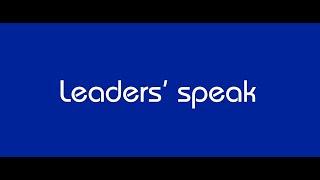 IndiGo leaders' speak