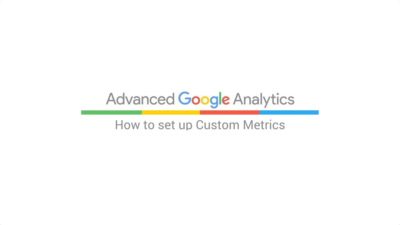 How to set up Custom Metrics (5:36)