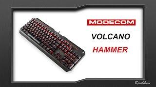 Modecom Volcano Hammer - Klawiatura mechaniczna z LEDami za 159 złotych!