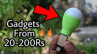 Insane Gadgets From 20-200Rs on Amazon/FlipKart 🔥🔥