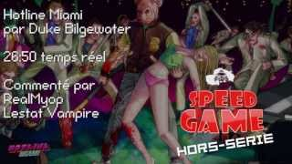 Speed Game Hors-Série: Hotline Miami en 29:50