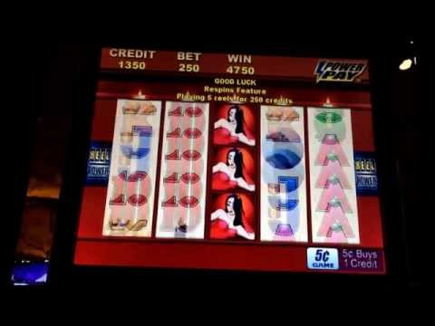 Video Slot machine winner las vegas casino jackpot