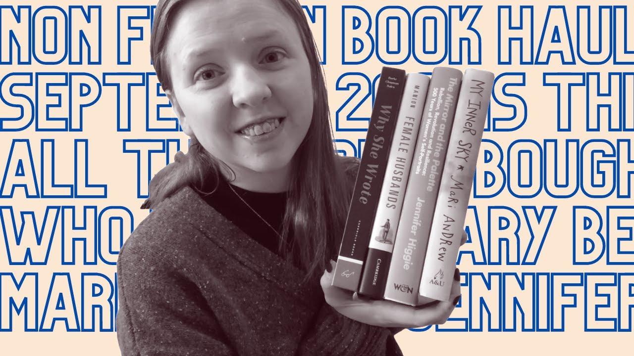 Non-Fiction Book Haul   September 2021 [CC]