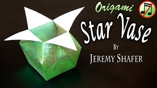 Origami Star Vase (no music)