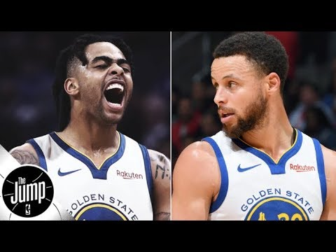 Scottie Pippen's expectations for D'Angelo Russell, Stephen Curry and the Warriors | The Jump