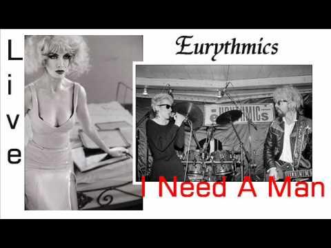 Eurythmics I Need A Man Live Rome, Italy 1989
