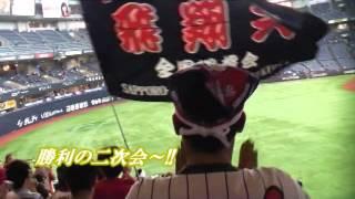 2015年9月27日 京セラドーム大阪でのオリックスV.S.日本ハム戦。...