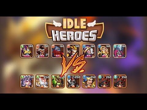 Idle heroes Fr #57 ► Mon ancienne équipe + donjon et île