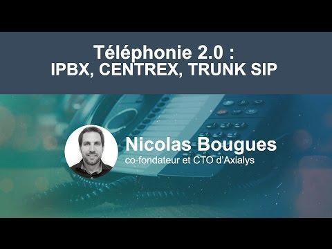 "Webinar ""Téléphonie 2.0 : IPBX, Centrex, Trunk SIP"""