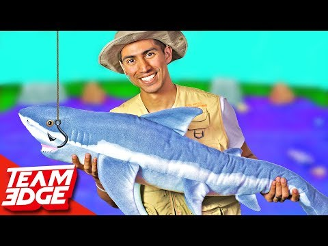 GIANT Gone Fishing Challenge!!