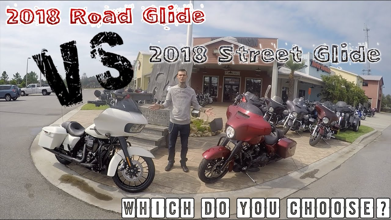 2018 Road Glide Special Vs 2018 Street Glide Special Which To