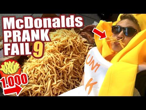 McDonalds PRANK FAIL - 1.000 POMMES / FRIES - McDonalds Roulette