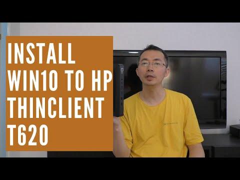 HP ThinClient 620 Upgrade to Windows 7 64 Bit and Windows 10 64Bit