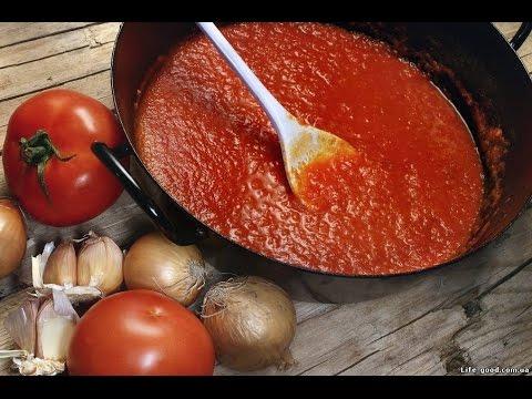 ♥ Соус для настоящей итальянской пиццы ♥ | Рецепт соуса для пиццы | Вкусные домашние рецепты