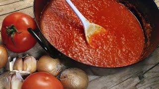 Соус для настоящей итальянской пиццы Рецепт соуса для пиццы Вкусные домашние рецепты