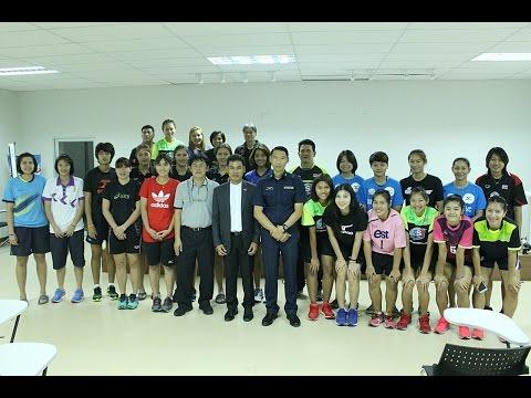 2560-01-09 นักวอลเลย์บอลหญิงทีมชาติไทย + U23 รายงานตัวและทดสอบสมรรถภาพ