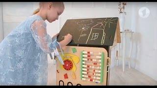 видео Бизиборд развивающая доска для детей, купить в детскоим