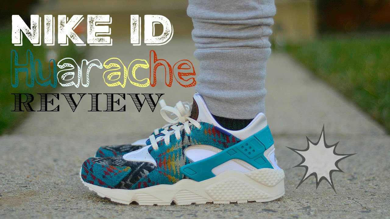 fc64ea4e9287 ... cheapest nike id air huarache pendleton review on feet youtube 03eb3  a5243