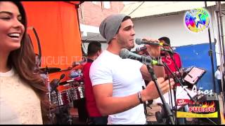 MARIO IREVARREN SALUDA ANUESTROS AMIGOS  DE RADIO FUEGO  EN SU ANIVERSARIO  2015  CHICLAYO
