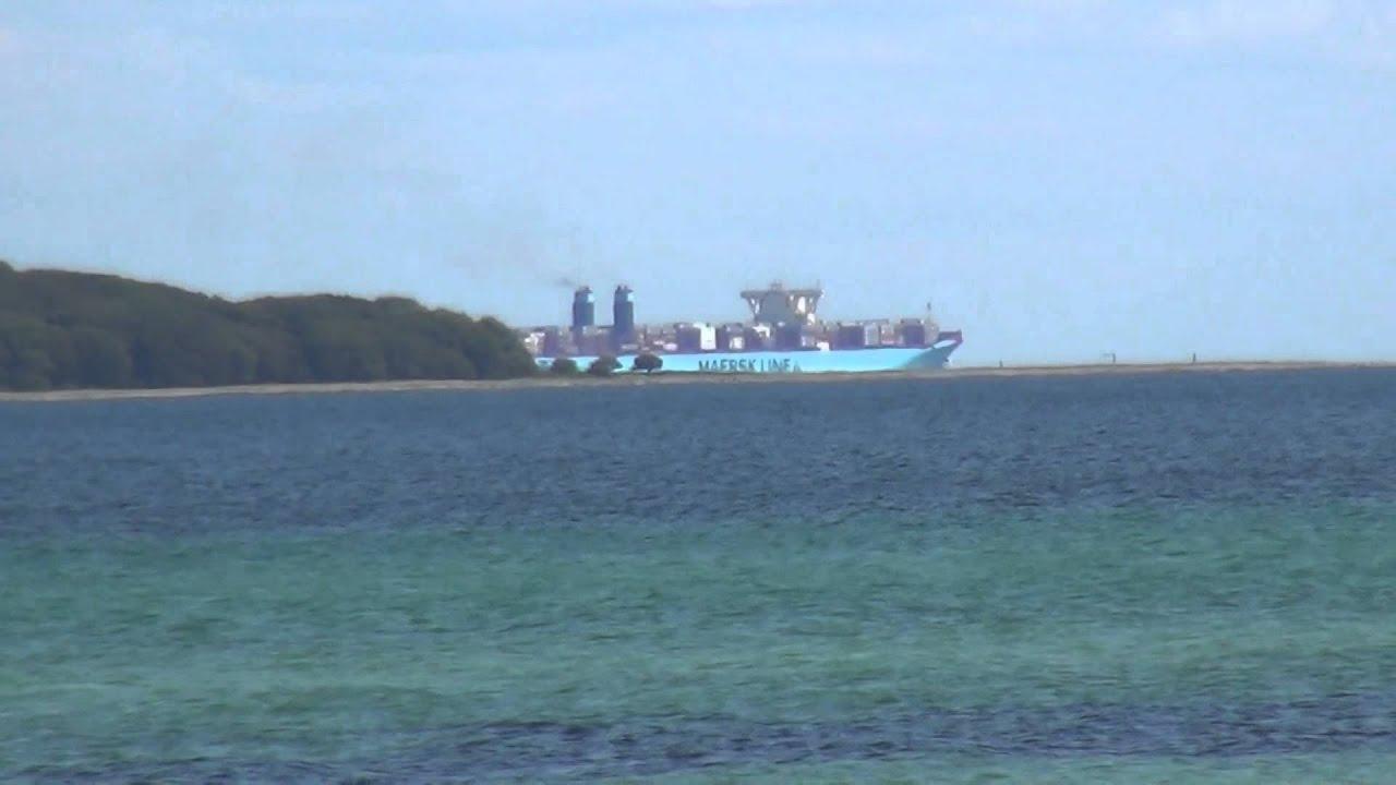 verdens største skib mærsk