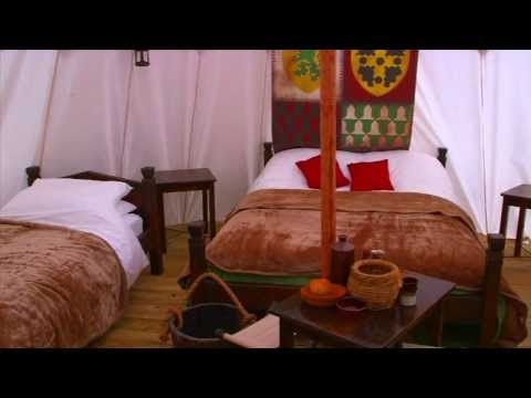 Glamping at Warwick Castle - 2014