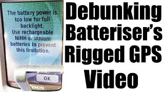 Batteriser Bullshit Part 2: Debunking Their Rigged GPS Video - #0098