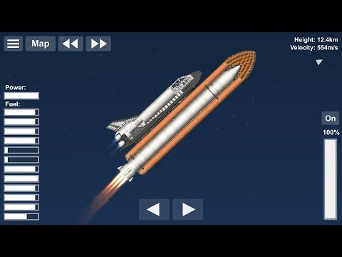 Spaceflight Simulator USAF Shuttle Concept