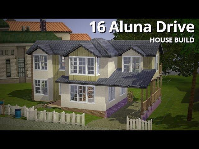 The Sims 3 House Building - 16 Aluna Drive - Aluna Island
