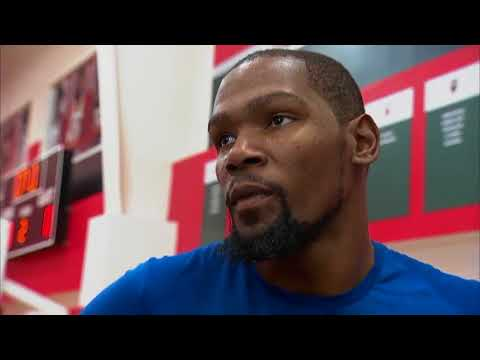 Kevin Durant answers if he is