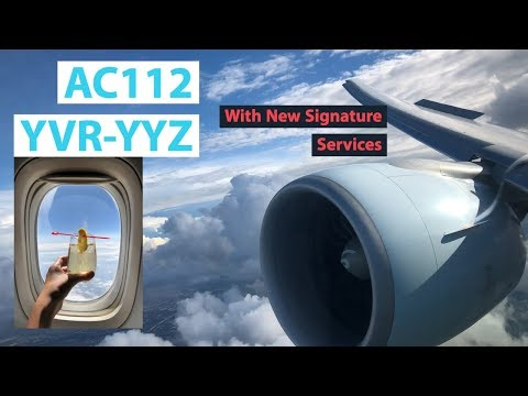 BEST Domestic Flight In North America? Air Canada 777-300ER Business Class