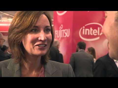 Fujitsu Forum 2015 Interview - Andy Herrington - Cyber Threat Intelligence