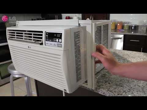 LG Window Air Conditioner - Installation (2018 Update)