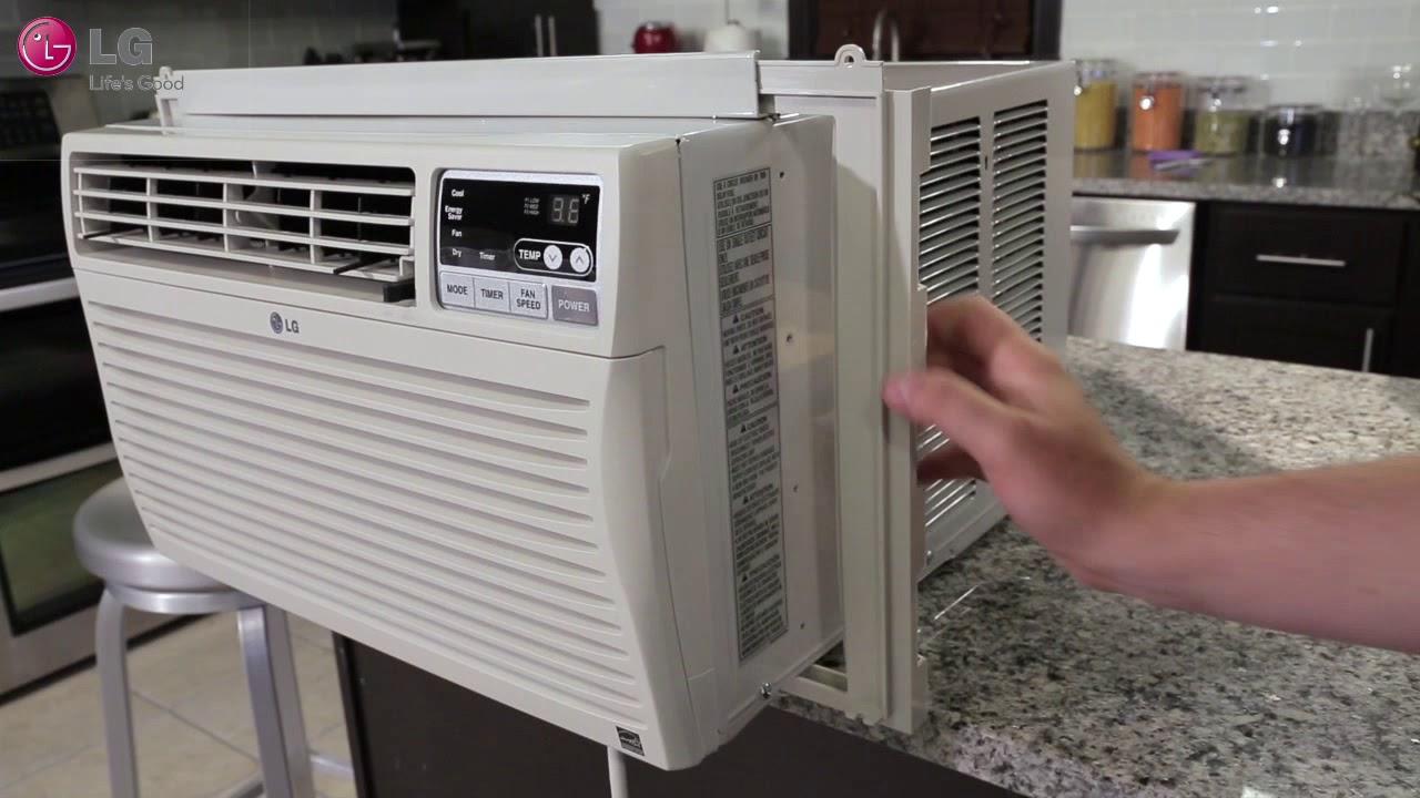 lg window air conditioner installation 2018 update  [ 1280 x 720 Pixel ]